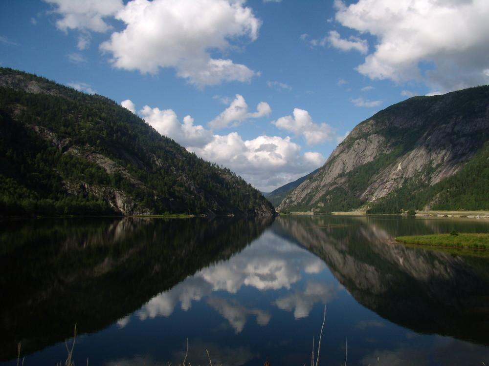 Norwegen - bei Valle
