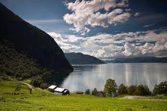Norwegen: Fjordblick