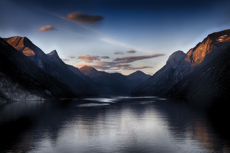 Norwegen Gejranger Fjord