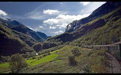 Norwegen - im Flåmstal
