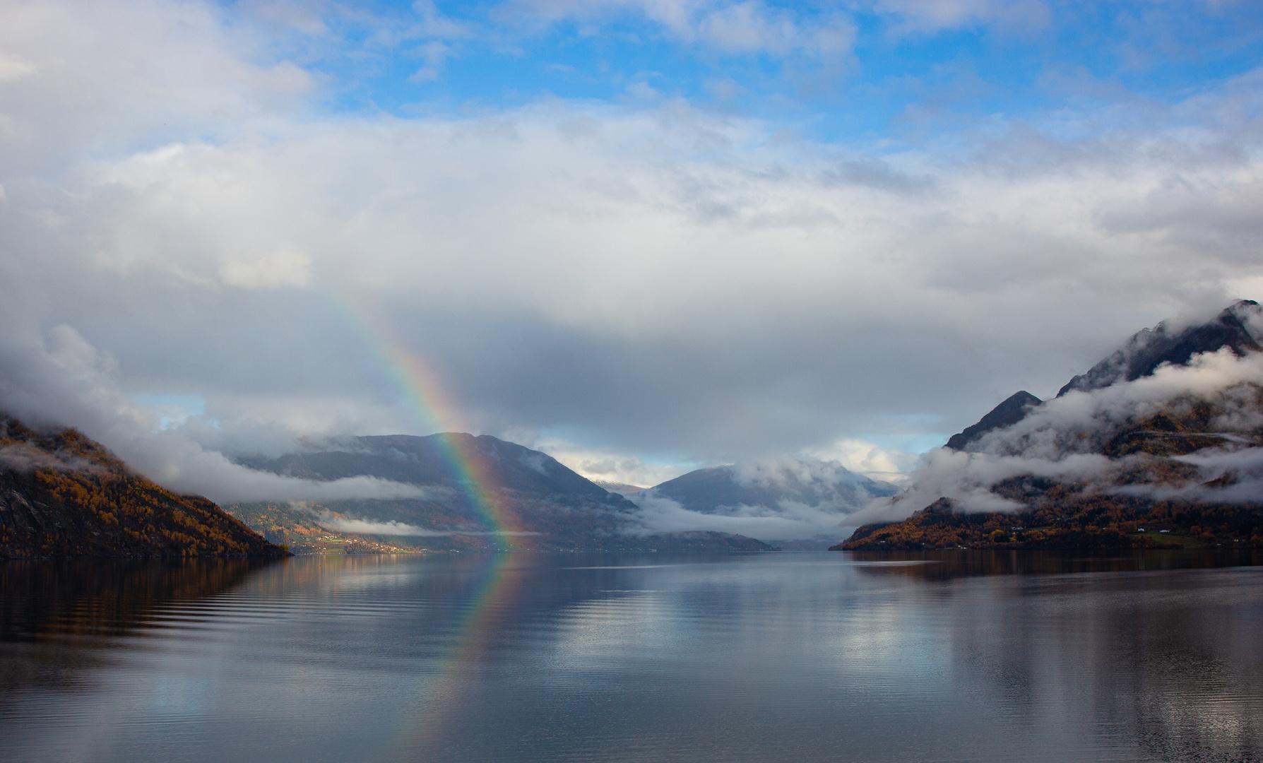 Norwegen im Herbst