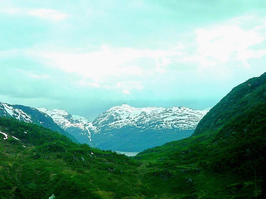 Norwegen im Juni