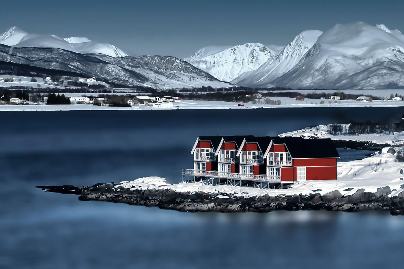 Norwegen März