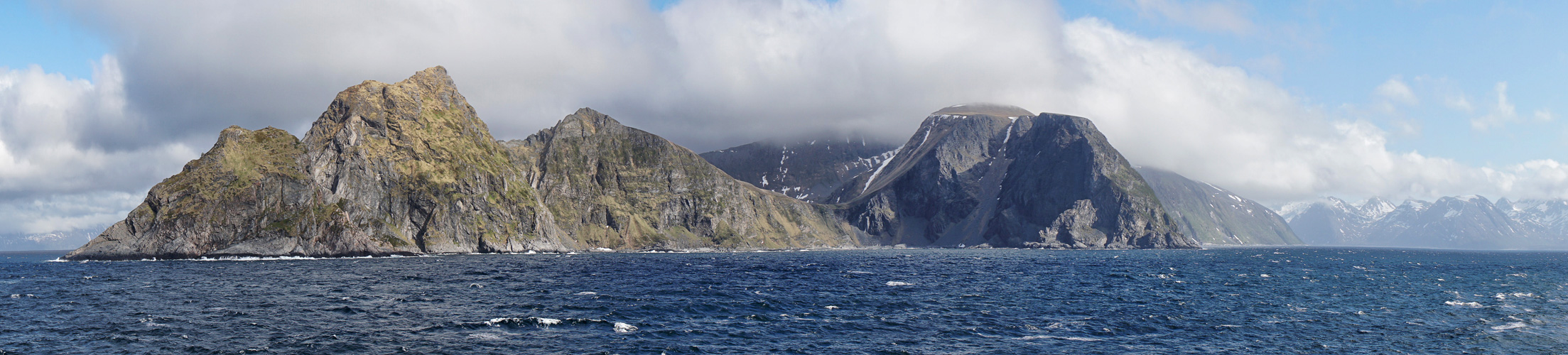 Norwegen - Küstenlinie