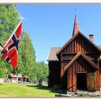 Norwegen und Stabkirchen gehören zusammen