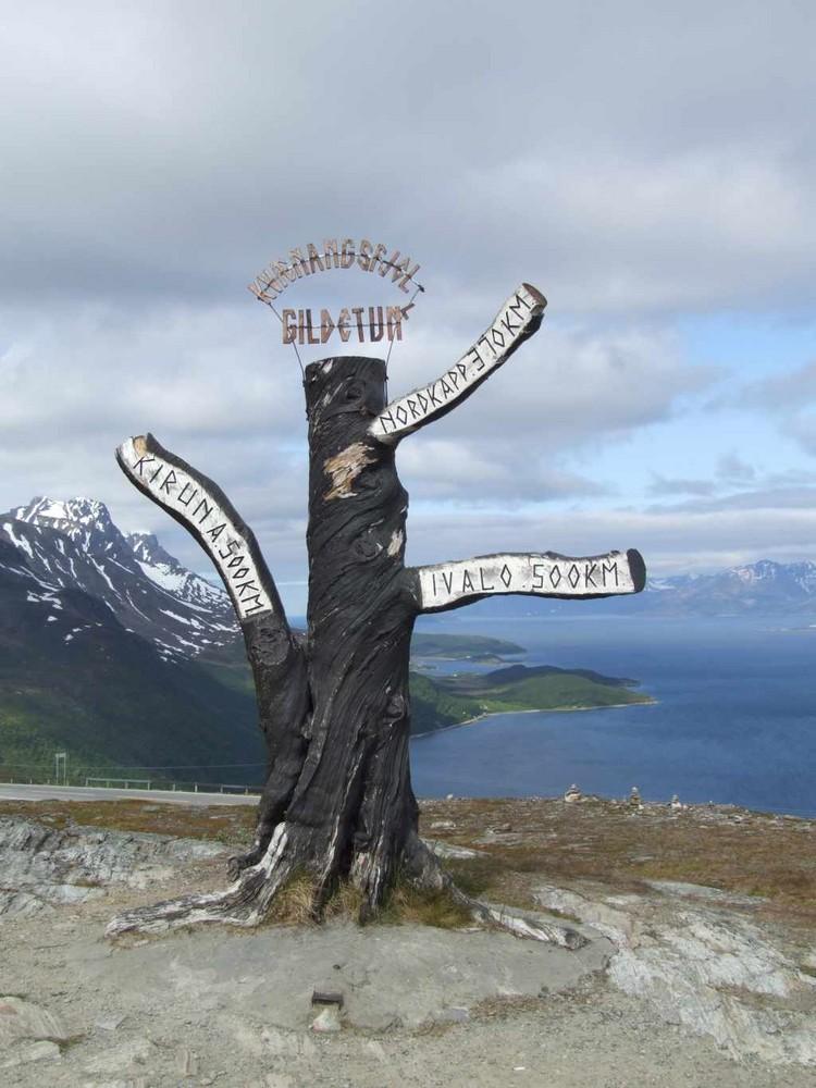 Norwegen Wegweiser