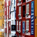 Norwegische Farbpalette