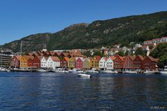 Norwegwn - Bergen - Bryggen