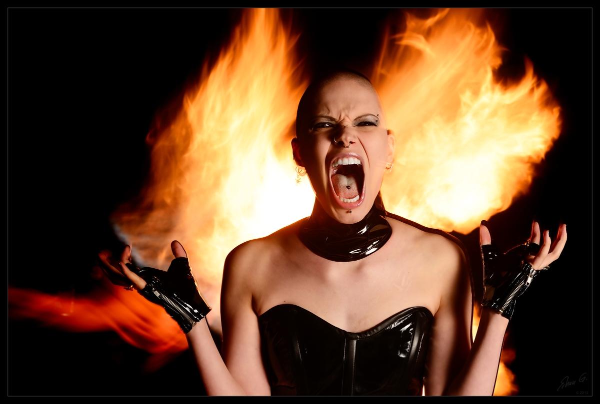 Nosferatu's Bride and Fire