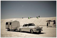 Nostalgie in White Sands