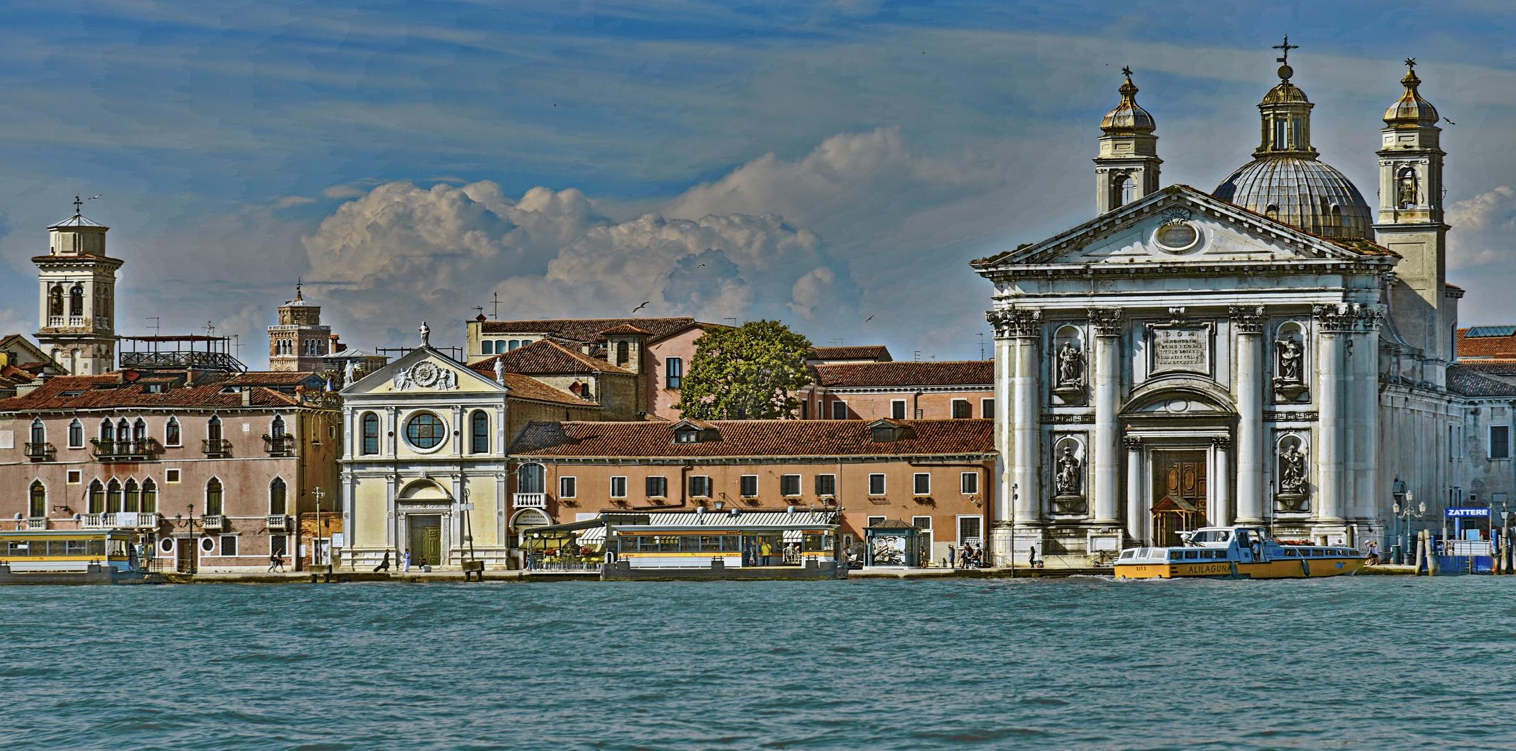 NOSTALGIE - Skyline von Venedig -