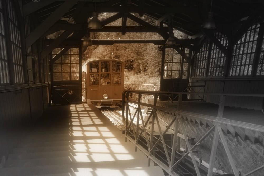Nostalgiebahn / nostalgisch in Szene gesetzt (2007)