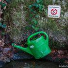 Not for drinking - Brunnen auf dem Jägerweg Kappelwindeck (bei Bühl)