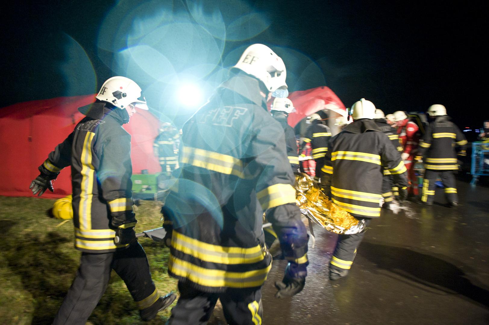 Notfallübung Flughafen Erfurt | 2