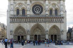 Notre Dame - Besucher