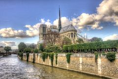 Notre-Dame Cathedral in HDR