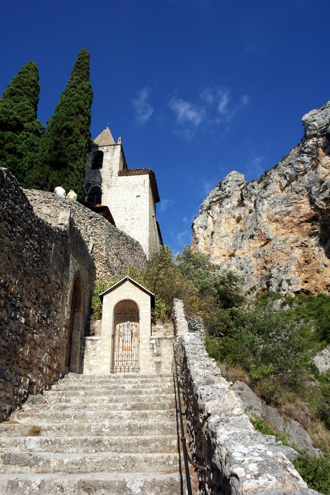 Notre-Dame-de-Beauvoir oberhalb Moustiers-Sainte-Marie