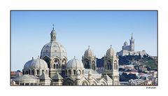 Notre Dame de la Garde et ses alentours (Marseille)