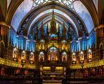 Notre-Dame de Montréal - Altar