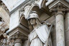 Notre-Dame - Detail - Hauptportal