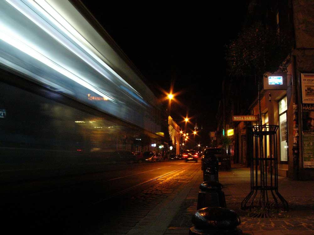 notte a Cracovia