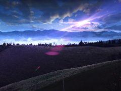 notte sulle colline