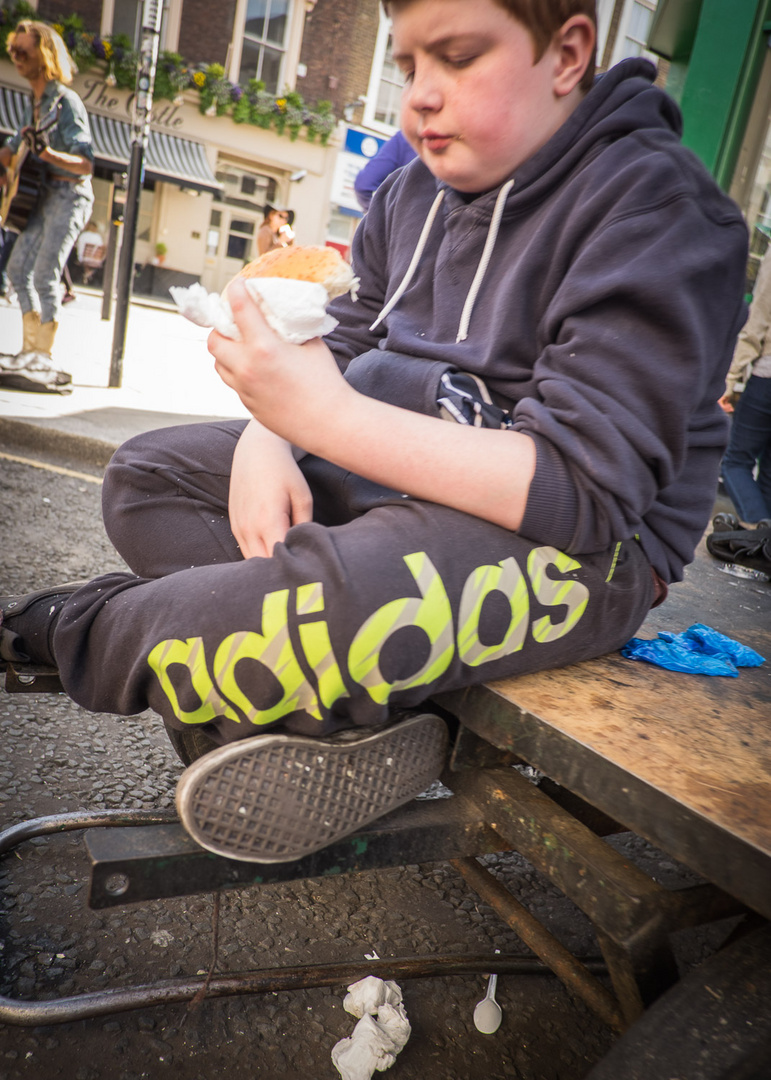 Notting Hill Food Market - Randbeobachtung 1