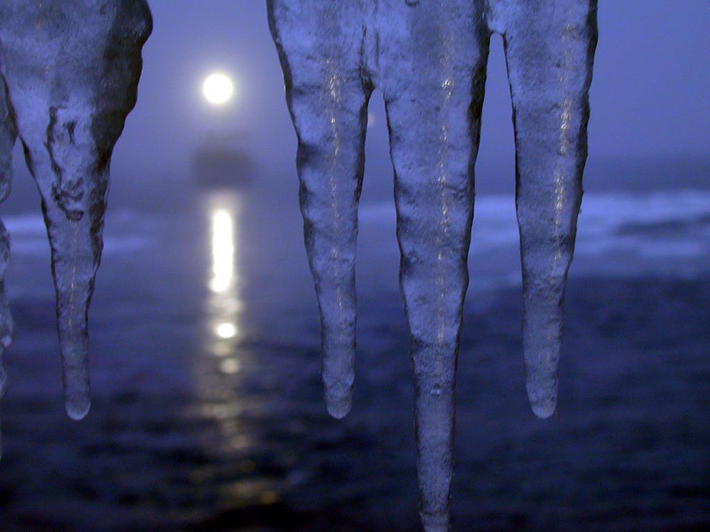 Notturno da Nave Oceanografica al Polo Sud