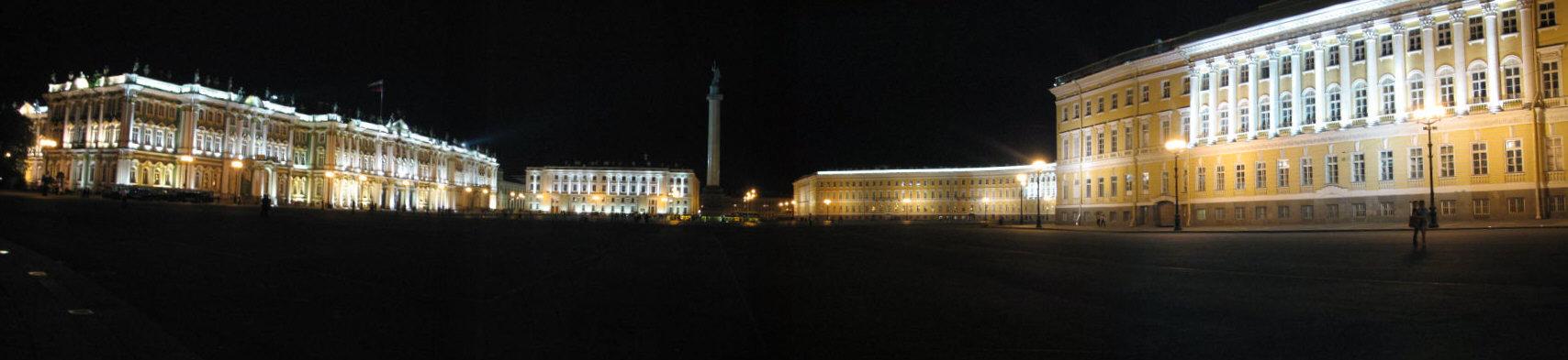 notturno dell'Ermitage di San Pietroburgo