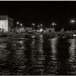 Notturno nel porto peschiero