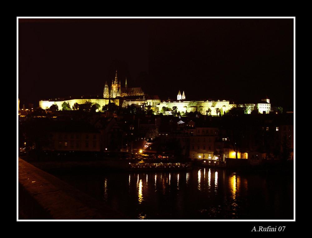 Notturno sul ponte carlo 2