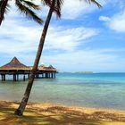 NOUMEA - La plage de Anse Vata – Der Strand an der Anse Vata Bucht