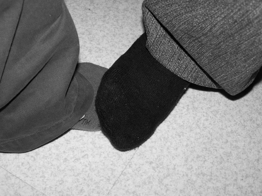 Nous deux c'est le pied...