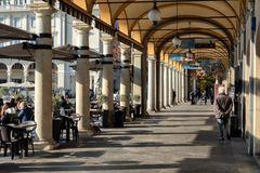 Novara, Piazza Martiri della liberta, portici