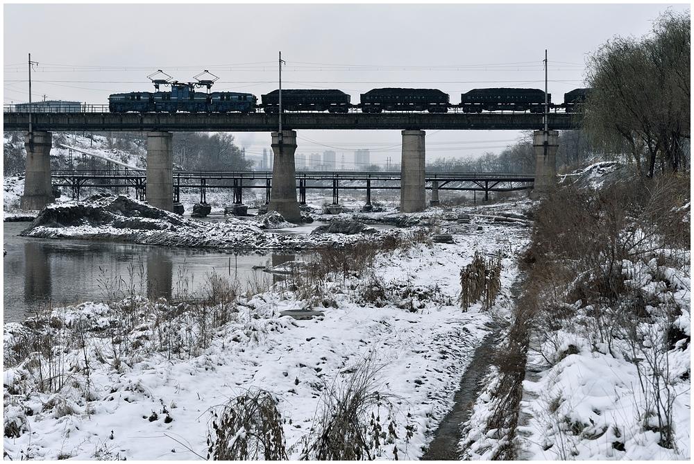 November-E-Lok in Nordchina - Fushun Coal Mine I