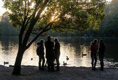 November im Park