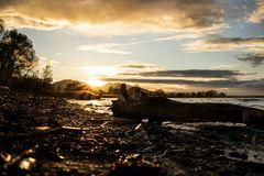 november sunset ...
