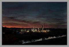 Novemberabend an der Ruhr