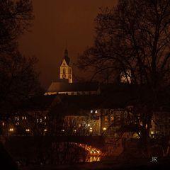 Novemberabend in Laufenburg