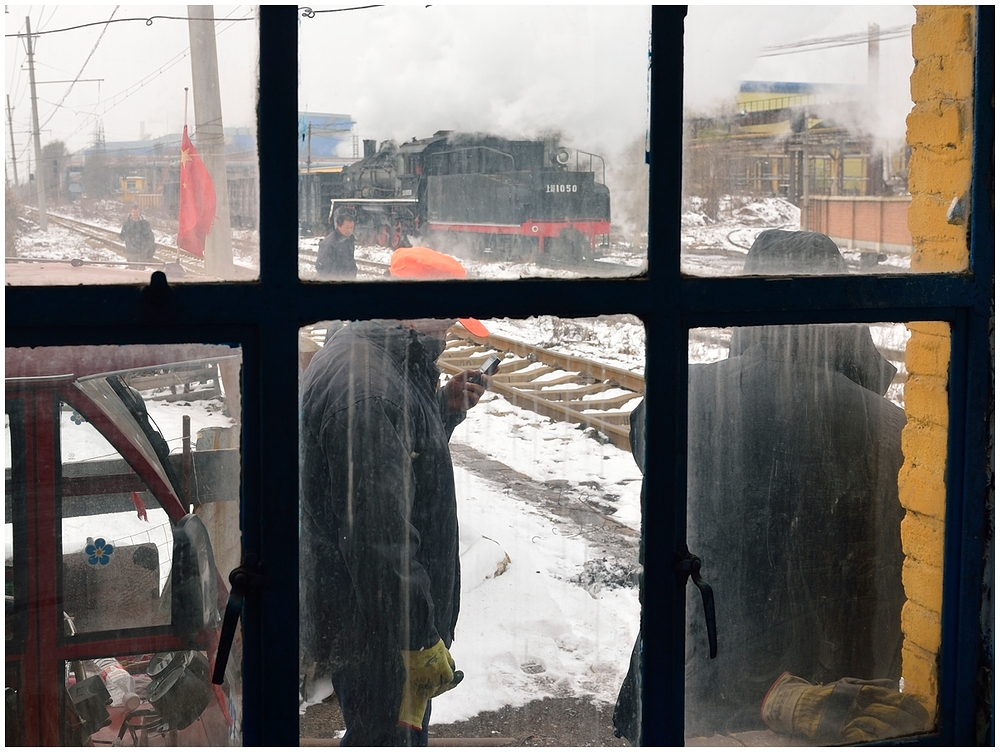 Novemberdampf in Nordchina - Fushun Steelworks III