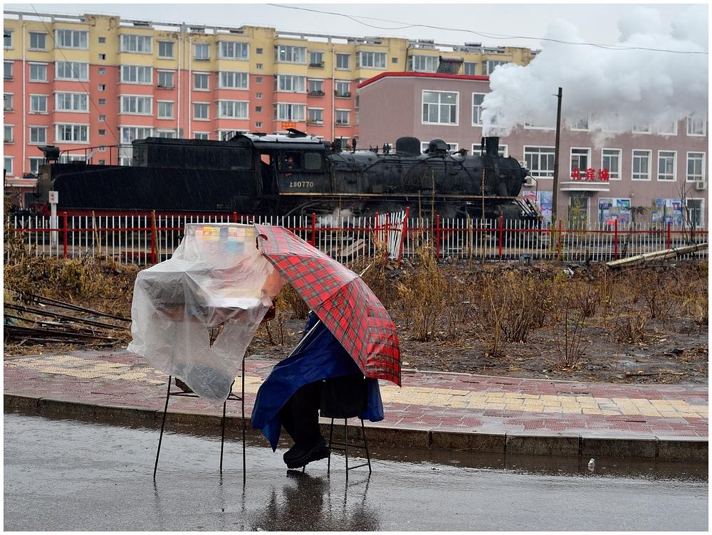 Novemberdampf in Nordchina - Fuxin III