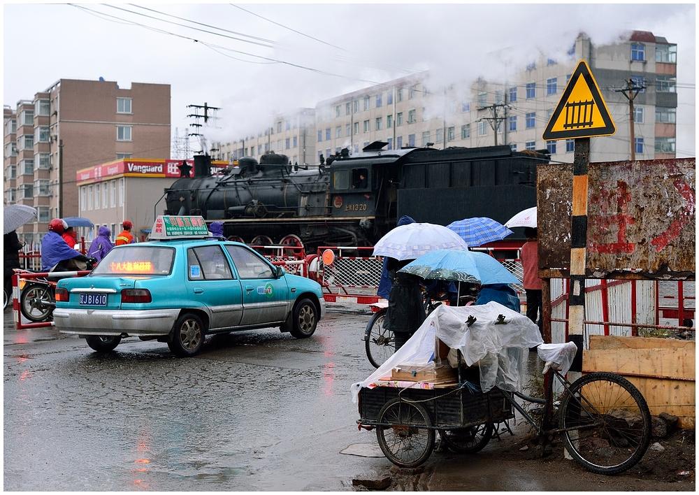 Novemberdampf in Nordchina - Fuxin IV