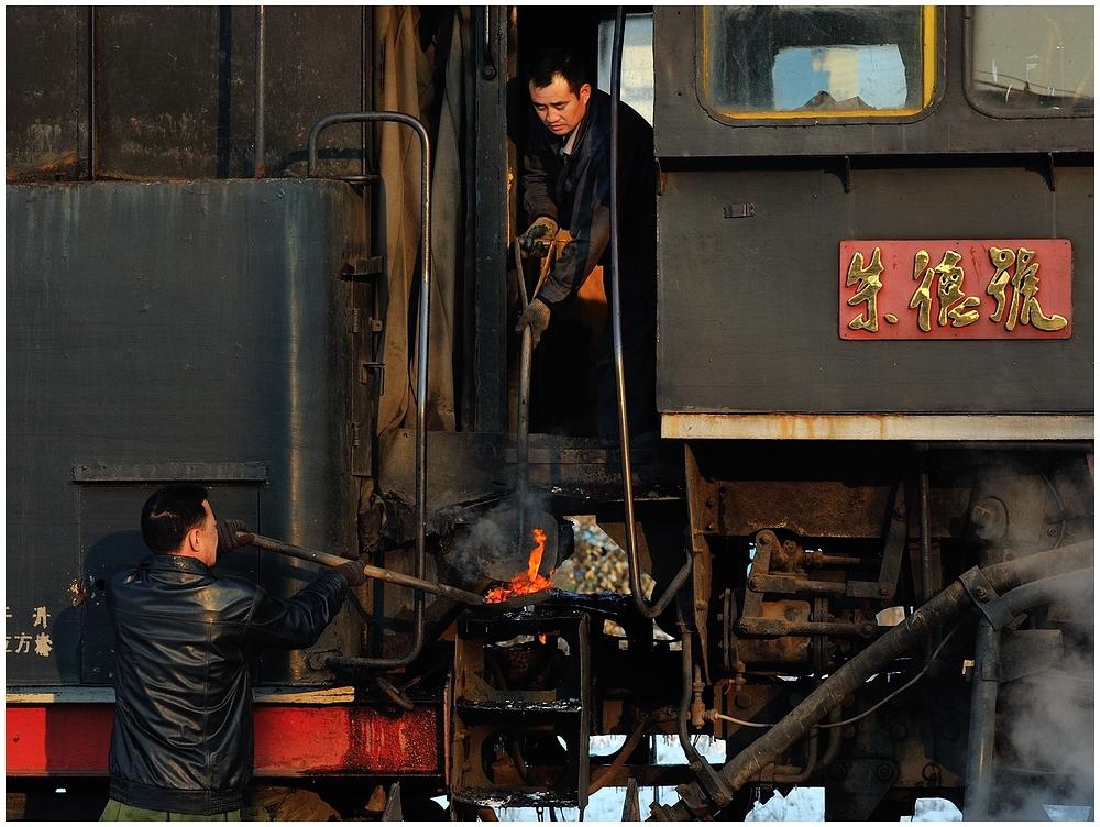 Novemberdampf in Nordchina - Fuxin IX