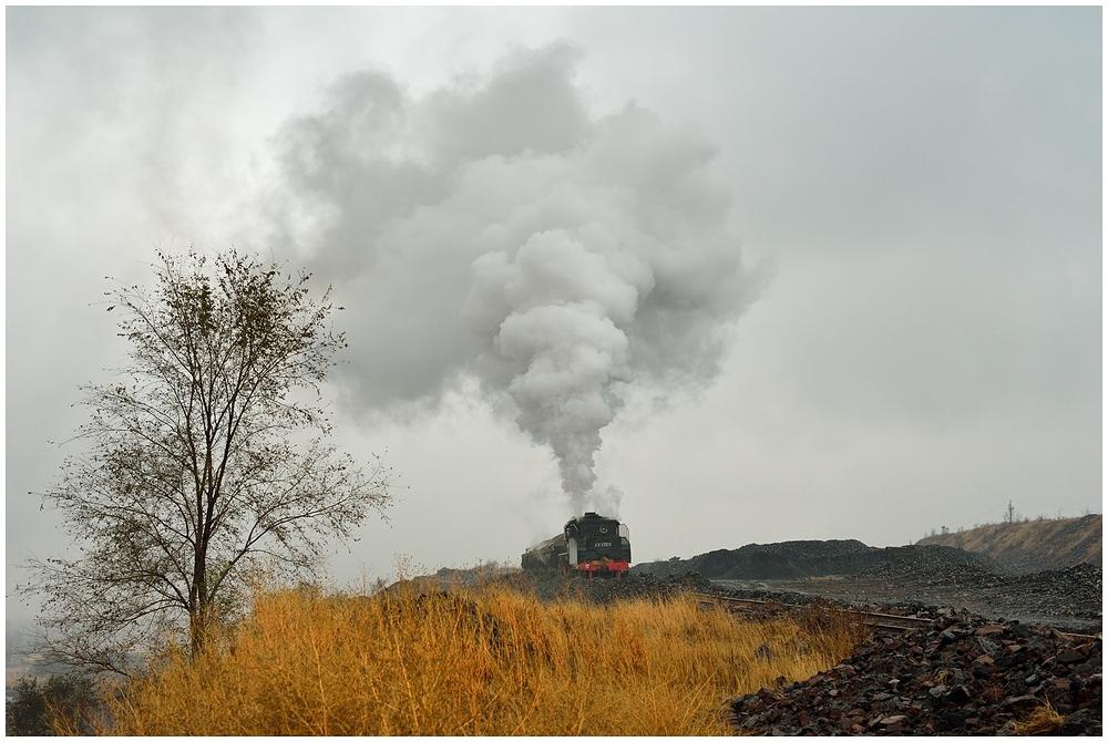 Novemberdampf in Nordchina - Fuxin VI