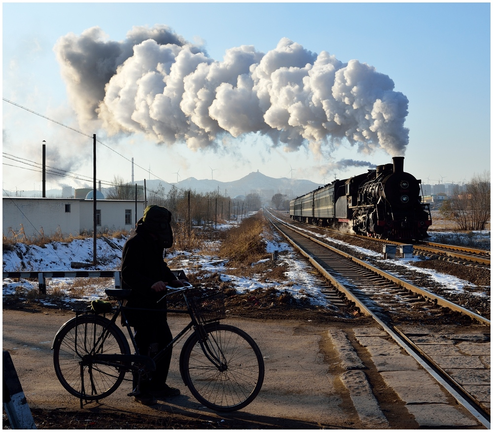 Novemberdampf in Nordchina - Tiefa II