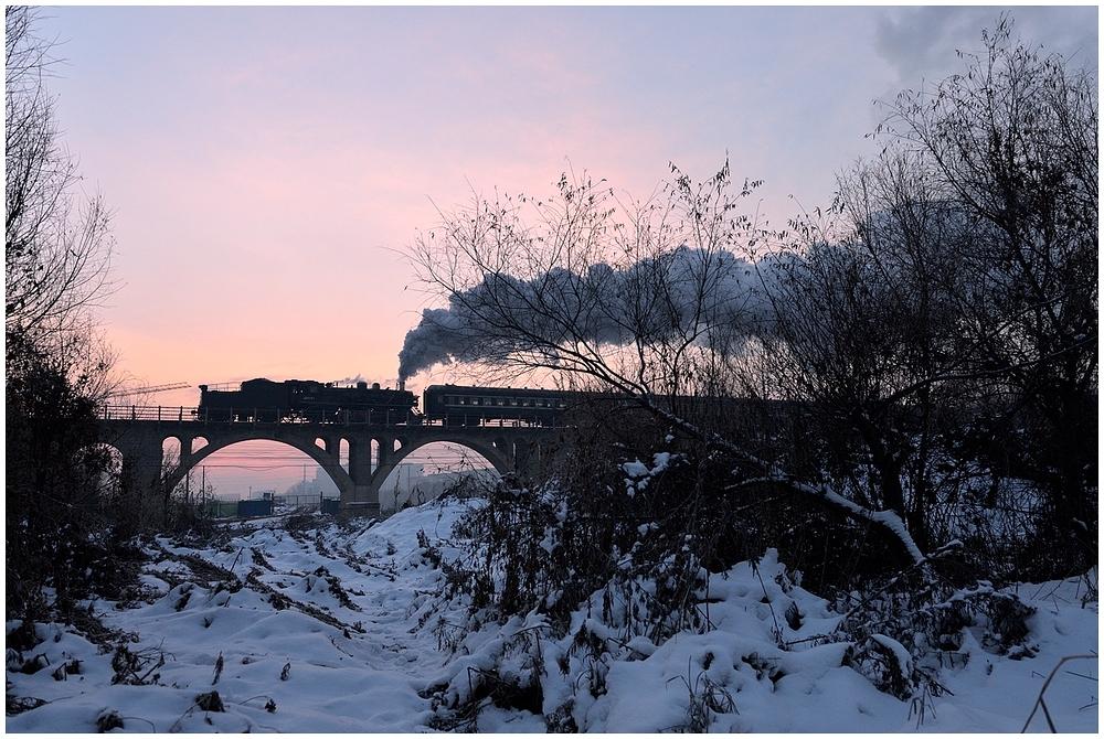 Novemberdampf in Nordchina - Tiefa IV