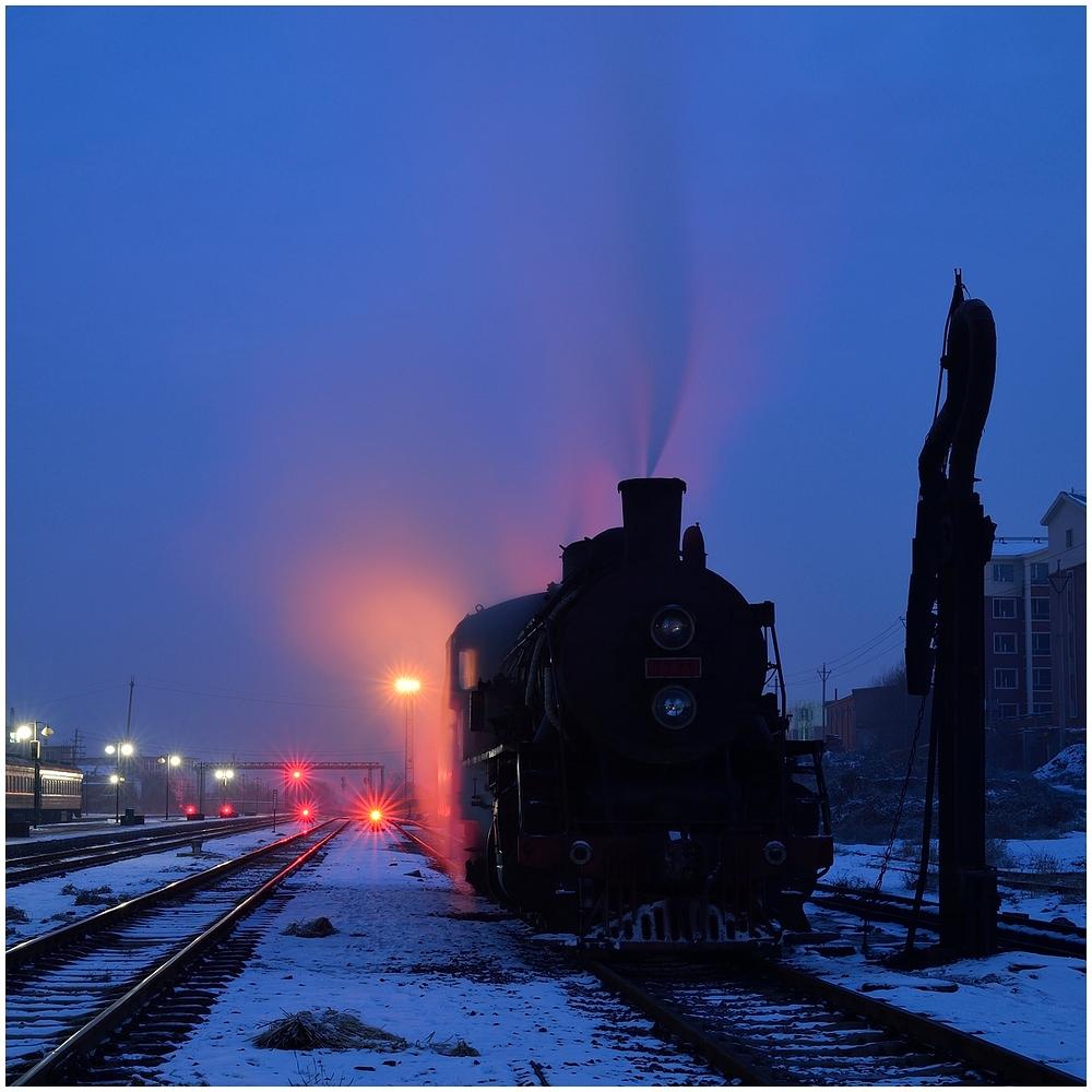 Novemberdampf in Nordchina - Tiefa XVI