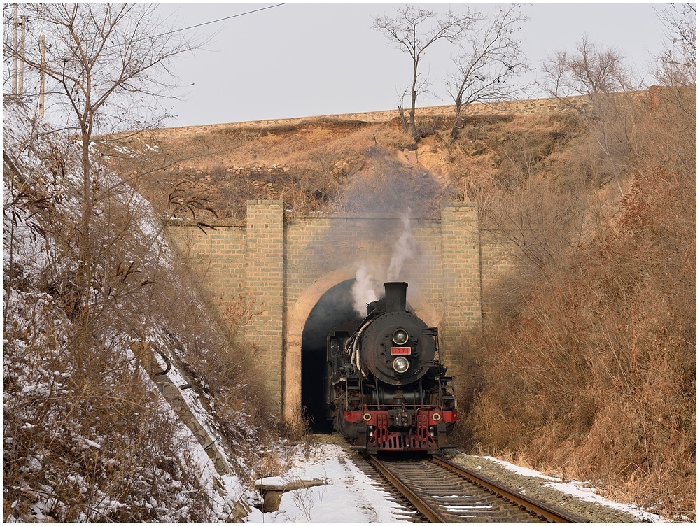 Novemberdampf in Nordchina - Tiefa XVIII