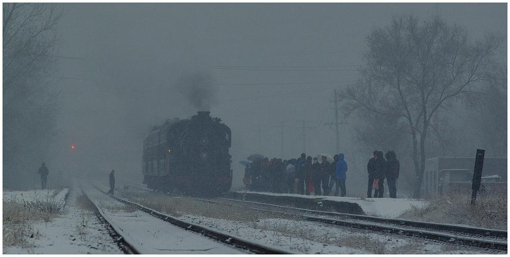 Novemberdampf in Nordchina - Tiefa XXVI