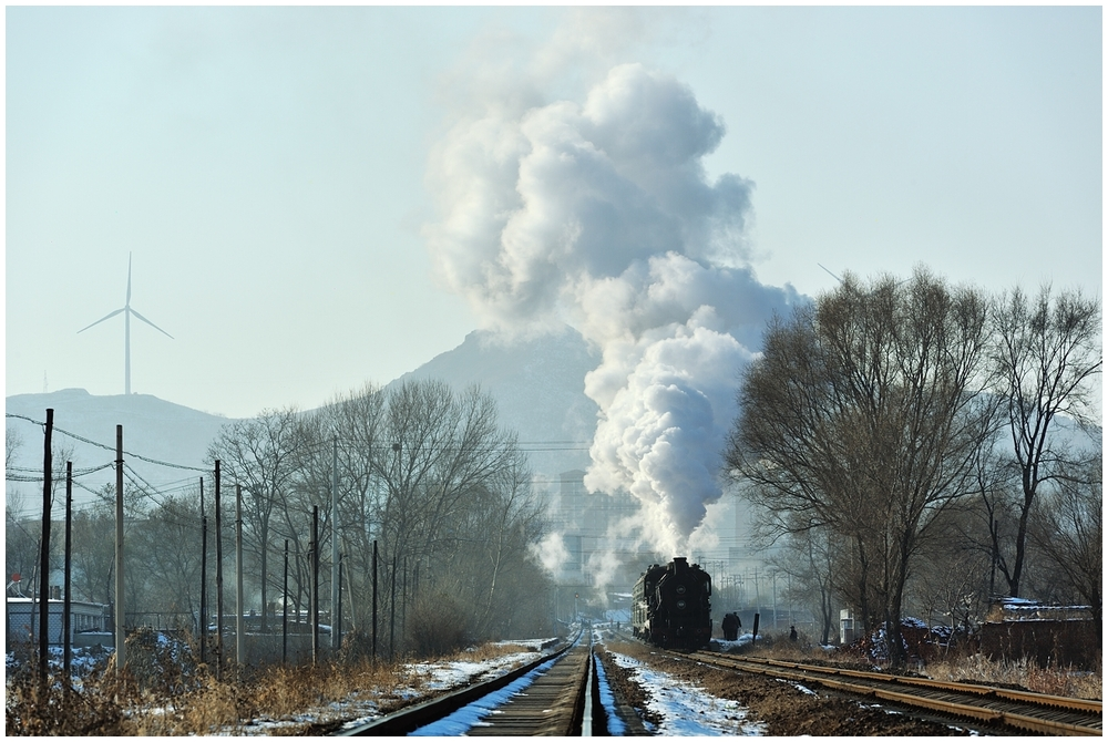 Novemberdampf in Nordchina - Tiefa XXVII